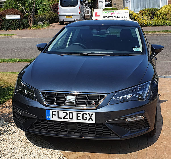 Photo of Tuition Vehicle from Green to Pink Driving School :: For driving lessons in Maidstone & Medway, call Ian now on 07429 946543